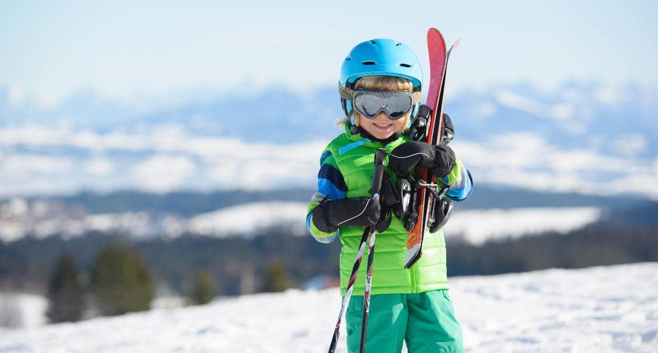 Jdeme na to, hodina lyžování začíná