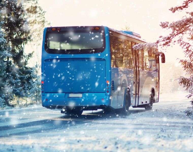 Zkrácené lyžařské zájezdy autobusem