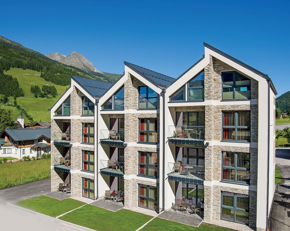 Rakousko (Rakouské Alpy a jezera) - Apt. komplex Das Bergparadies - pokoje