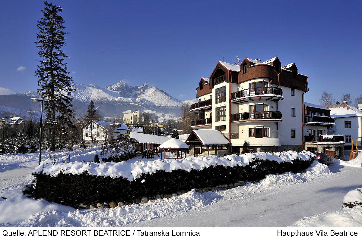Slovensko (Vysoké Tatry) - lyžování - RESORT BEATRICE