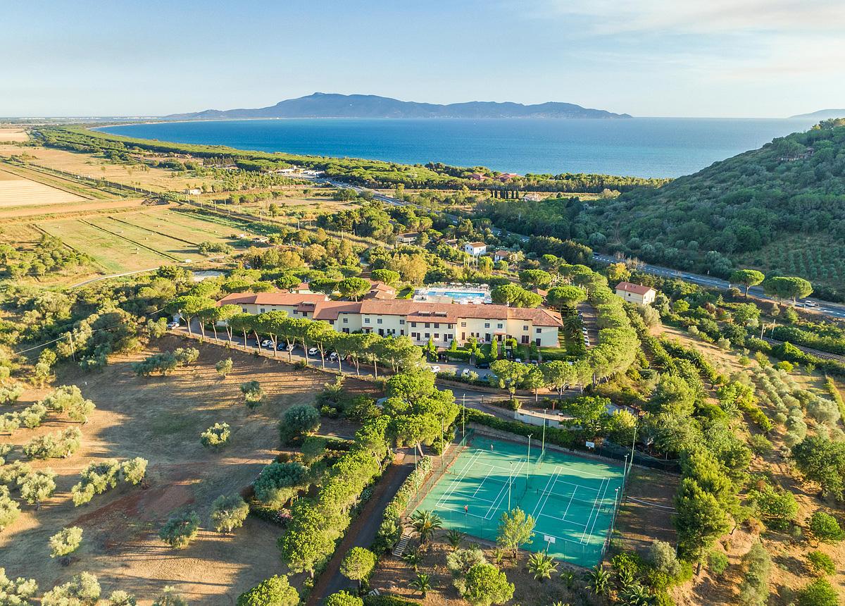 Itálie (Jižní Jadran) - dovolená - ARGENTARIO OSA RESORT - HOTEL