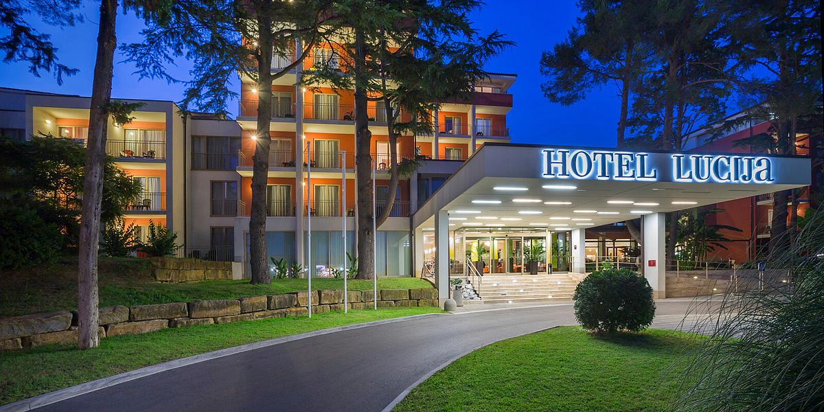 Slovinsko (Slovinsko) - dovolená - HOTEL REMISENS LUCIJA