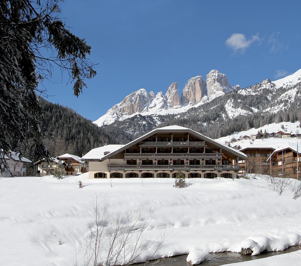 Itálie (Dolomiti Superski) - lyžování - PARK HOTEL & CLUB RUBINO EXECUTIVE