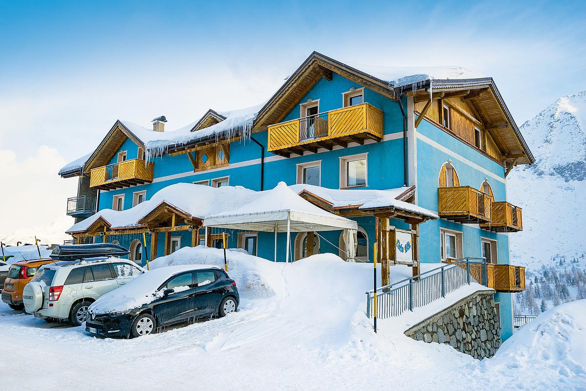 Itálie (Skirama Dolomiti) - lyžování - HOTEL CIELO BLÚ