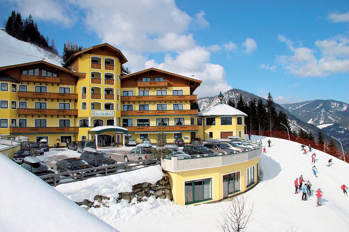 Rakousko (Štýrsko) - lyžování - HOTEL GUT RAUNERHOF