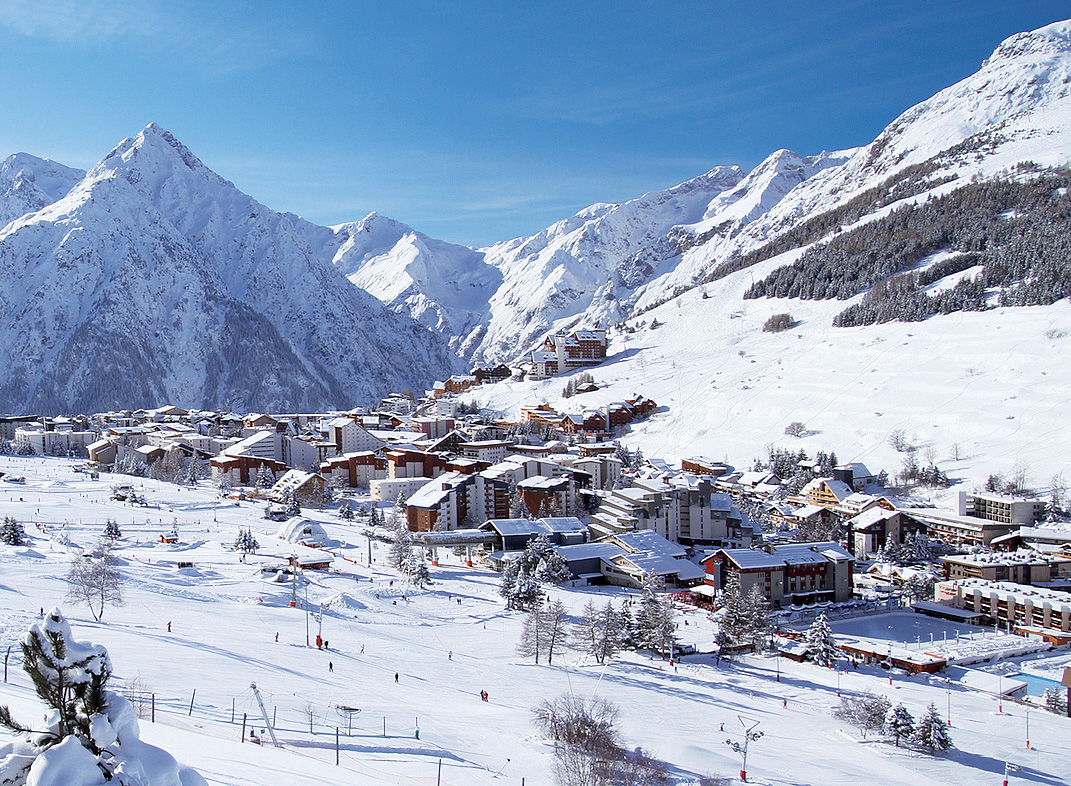 Francie (Isere) - Privátní apartmány Les 2 Alpes