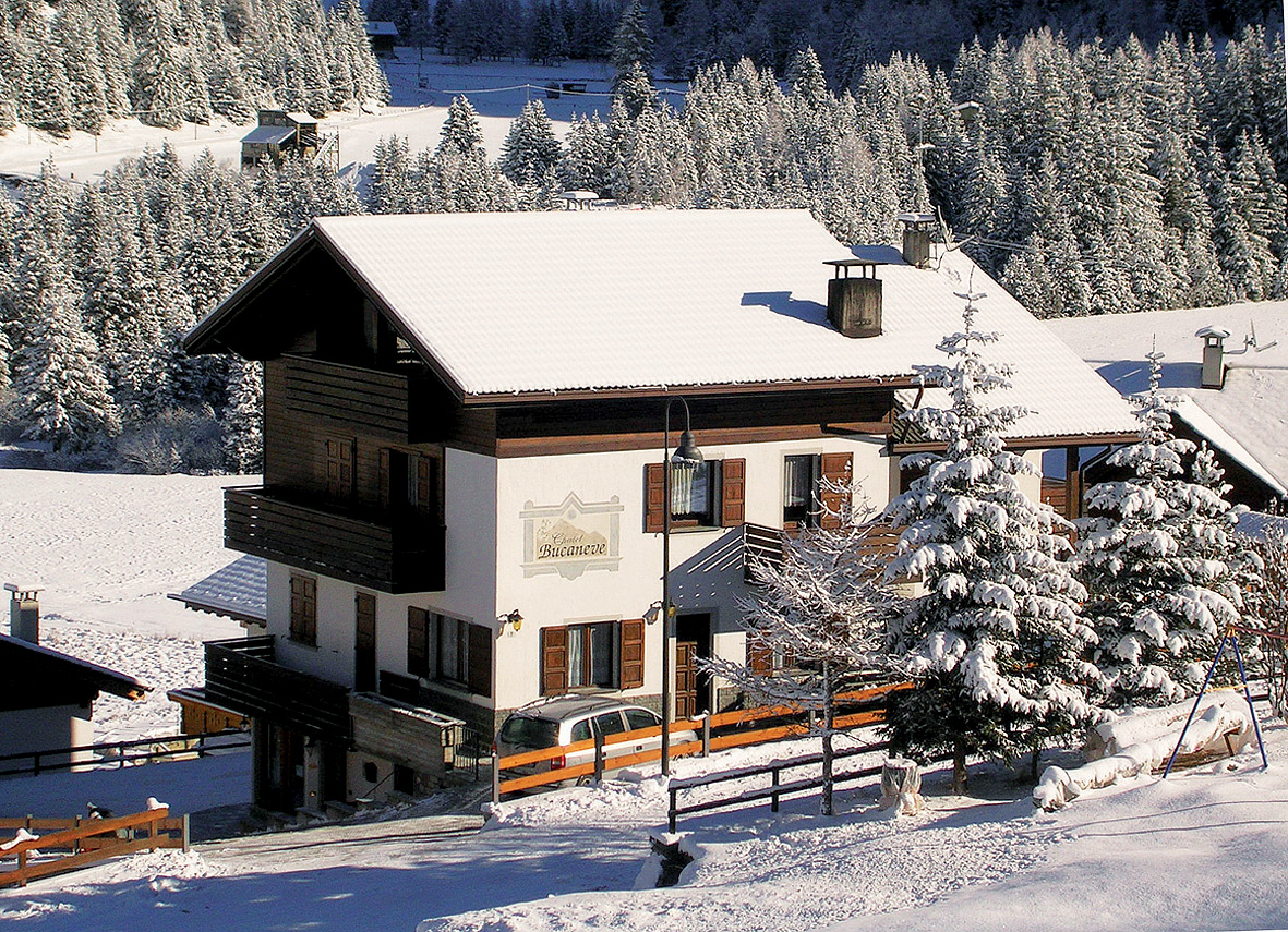 Itálie (Alta Valtellina) - Chalet Bucaneve