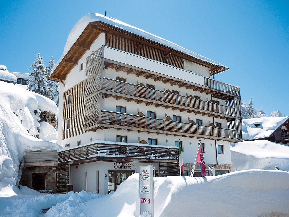 Itálie (Skirama Dolomiti) - lyžování - HOTEL CHALET CAMINETTO