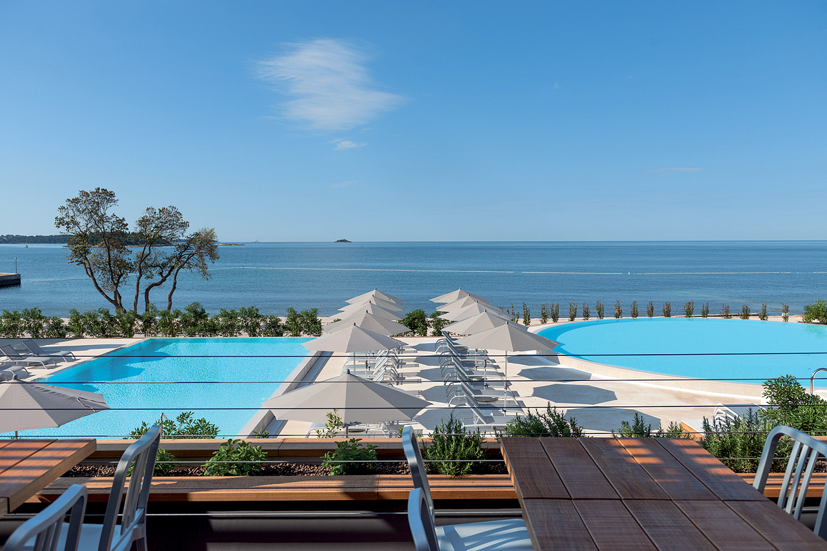 Chorvatsko (Istrie) - dovolená - RESORT AMARIN - POKOJE