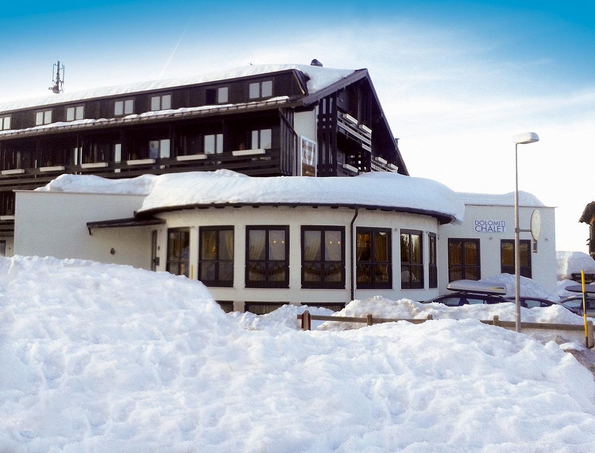 Itálie (Skirama Dolomiti) - lyžování - FAMILY HOTEL DOLOMITI CHALET