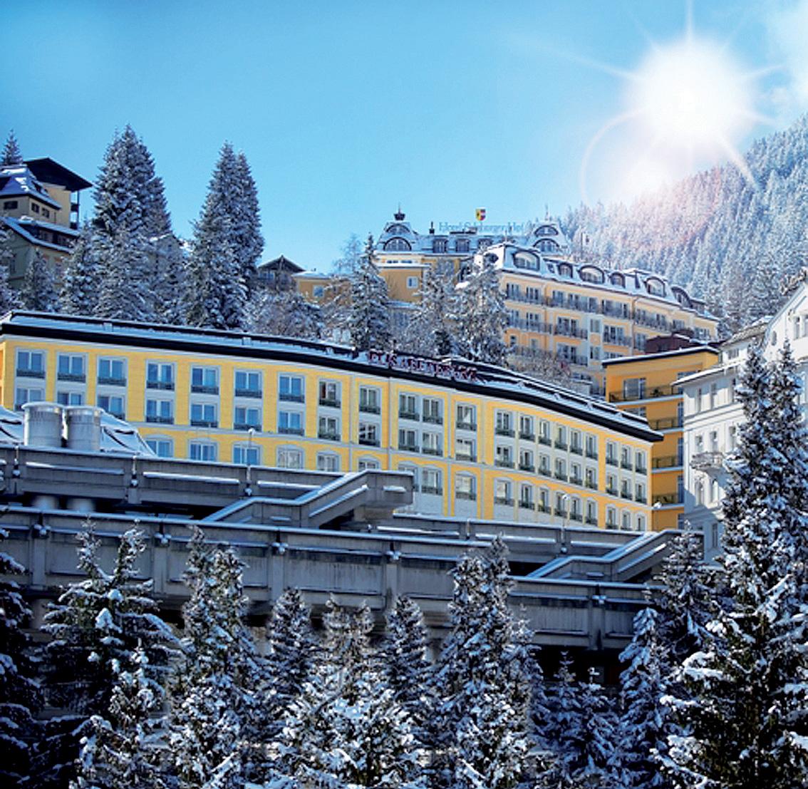 Rakousko (Salcbursko) - lyžování - HOTEL ELISABETH PARK