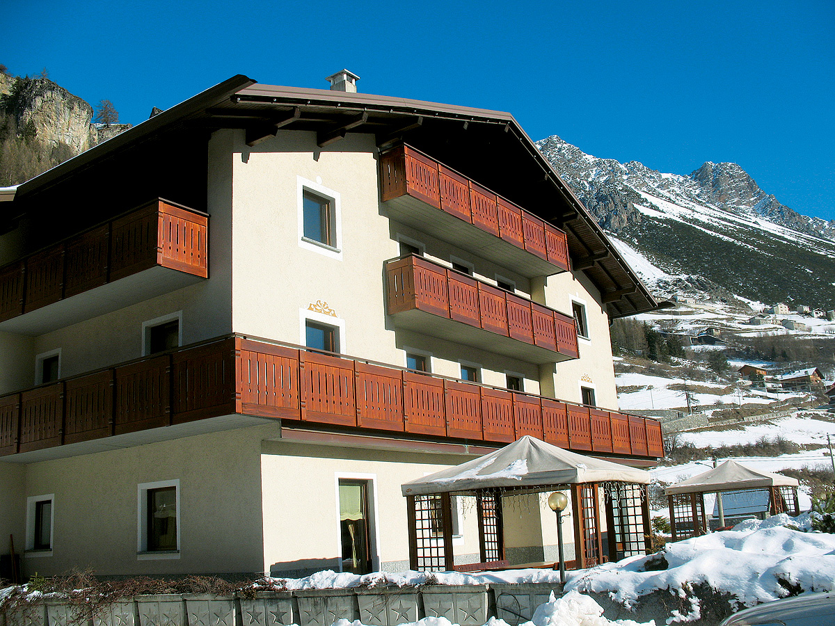 Itálie (Alta Valtellina) - Apt. dům Martinelli