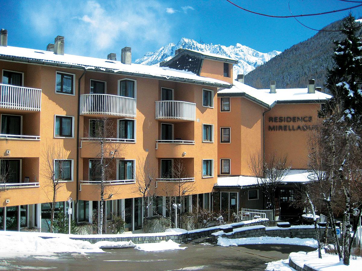 Itálie (Skirama Dolomiti) - lyžování - RESIDENCE MIRELLADUE