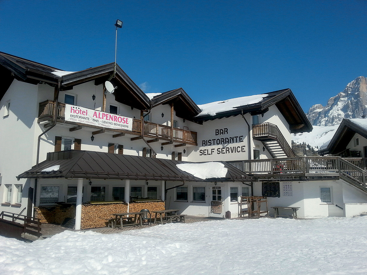 Itálie (Dolomiti Superskix) - Hotel Alpenrose