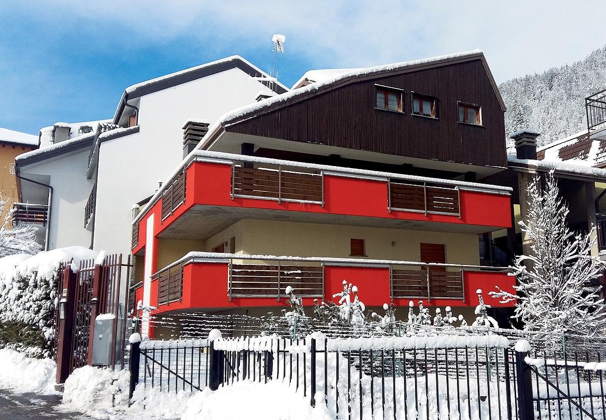 Itálie (Valtellina) - lyžování - APT. DŮM AURORA