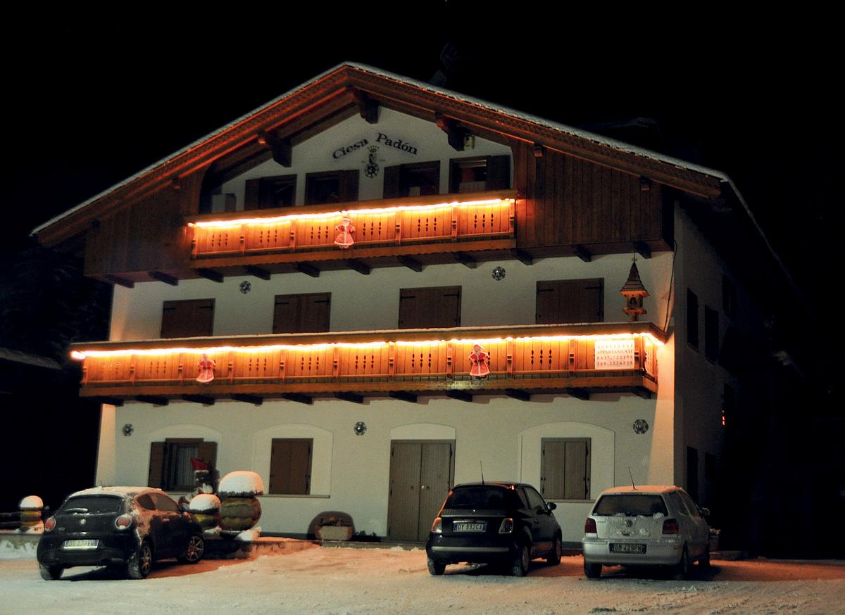 Apartmánový dům Ciesa Padon