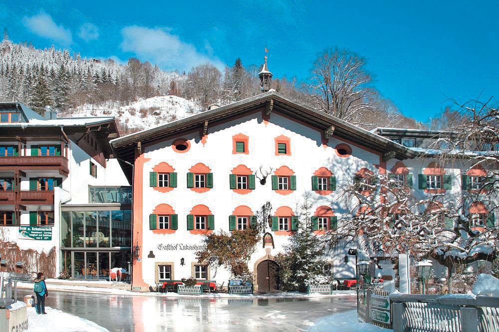 Rakousko (Salcbursko) - lyžování - GASTHOF LUKASHANSL