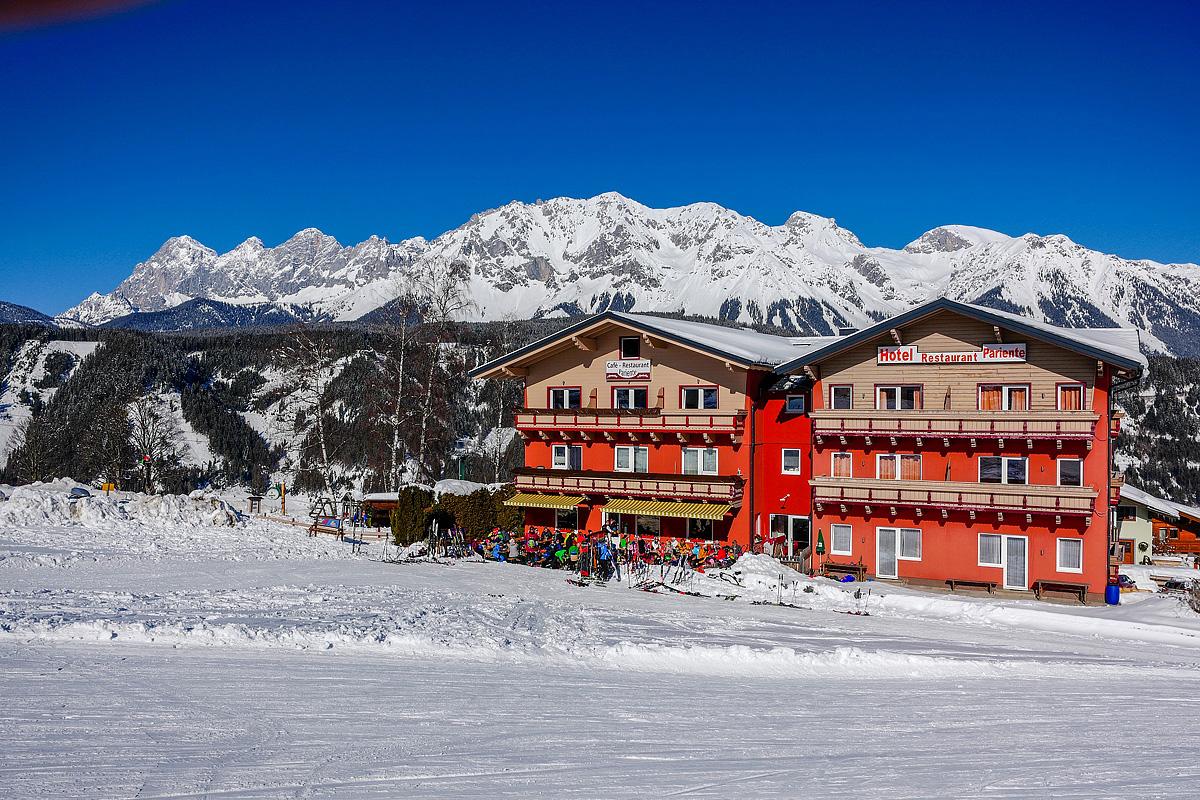 Rakousko (Štýrsko) - lyžování - HOTEL PARIENTE