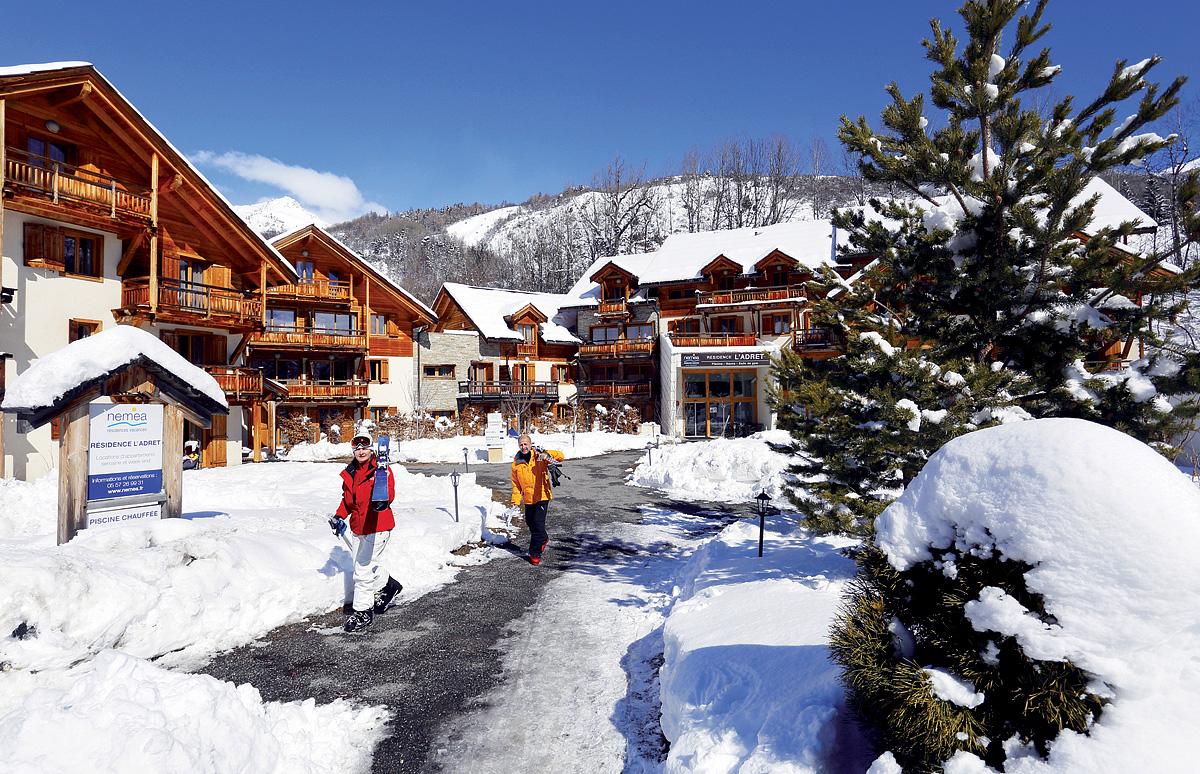 Francie (Hautes Alpes) - Residence Adret
