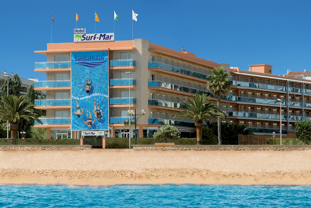 Španělsko (Costa Brava) - dovolená - HOTEL SURF MAR