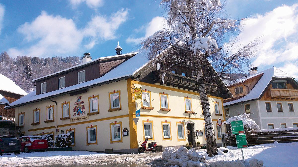 Rakousko (Salcbursko) - lyžování - GASTHOF MENTENWIRT