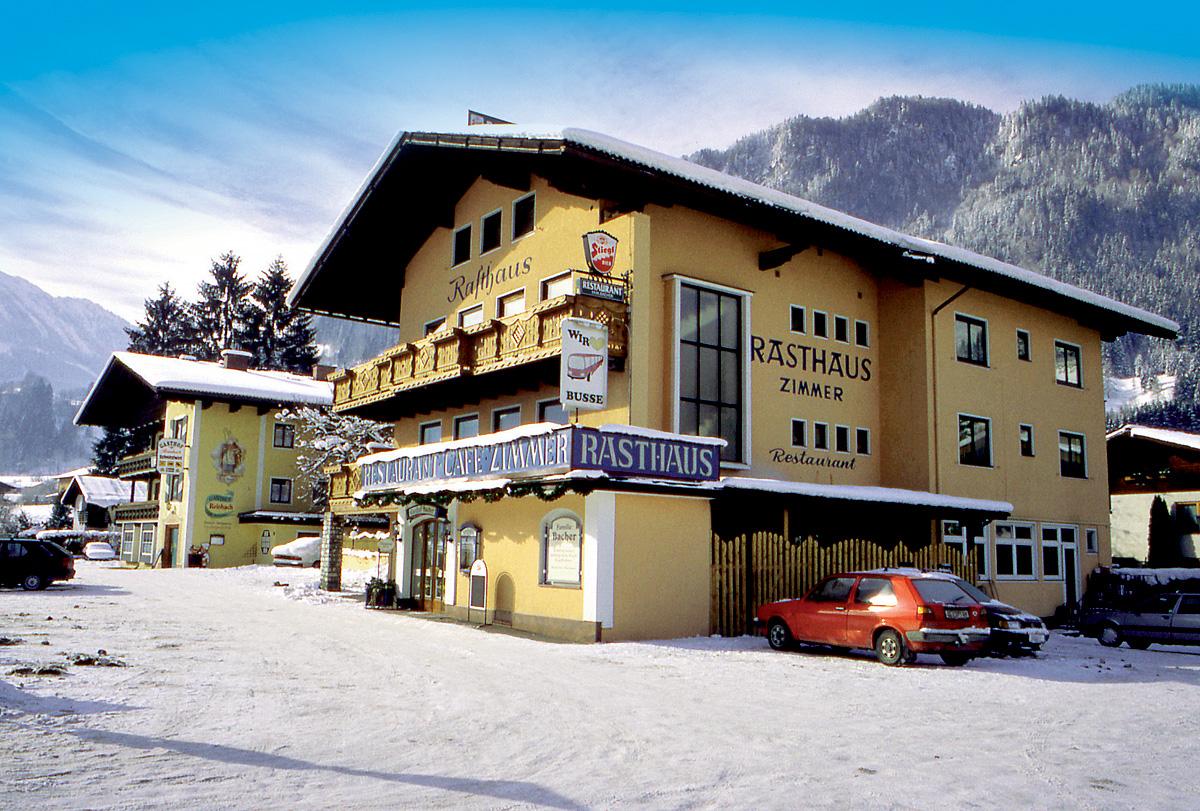 Rakousko (Salcbursko) - lyžování - GASTHOF BACHER