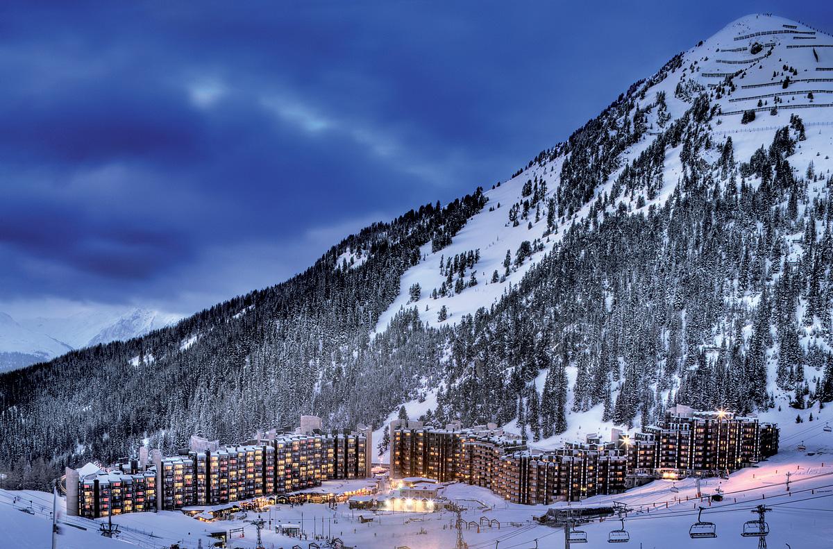 Francie (Paradiski) - lyžování - PRIV. APARTMÁNY PLAGNE BELLECOTE