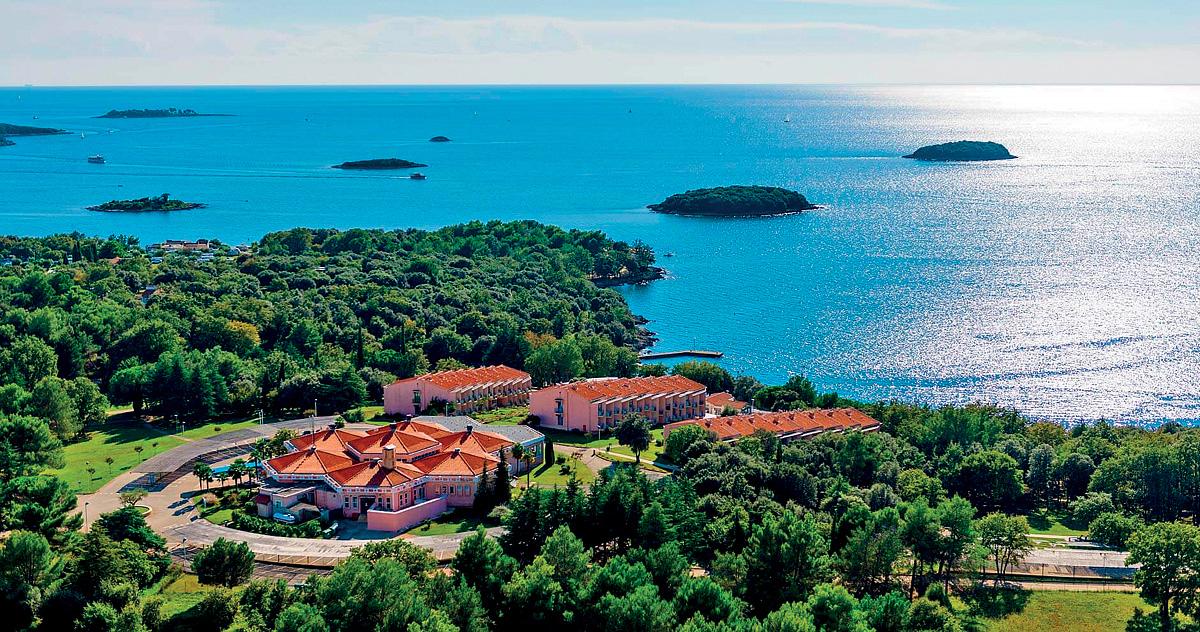 Chorvatsko (Istrie) - dovolená - HOTEL FUNTANA