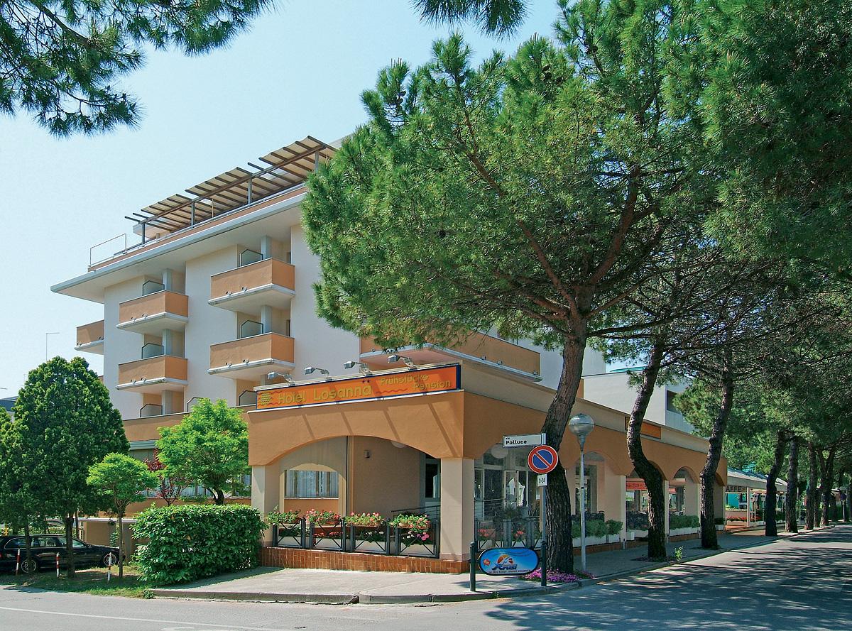 Itálie (Severní Jadran) - dovolená - GARNI HOTEL LOSANNA
