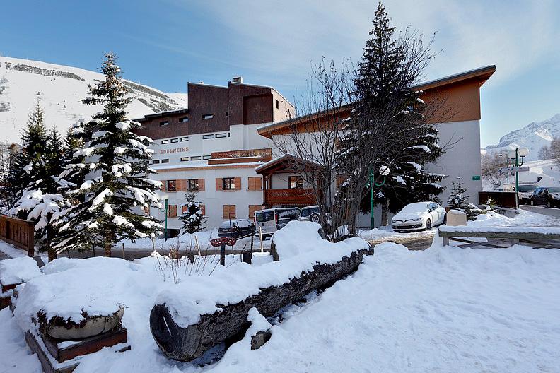 Francie (Isere) - lyžování - RESIDENCE EDELWEISS