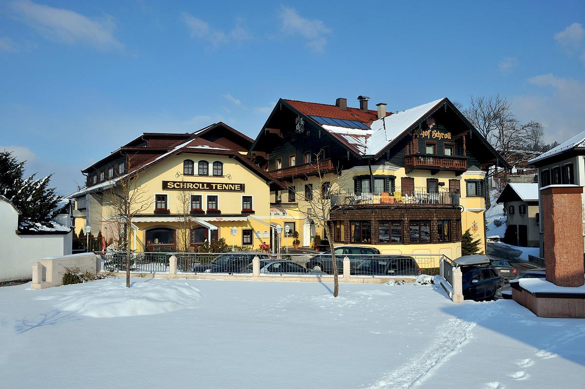 Rakousko (Tyrolsko) - lyžování - HOTEL GASTHOF SCHROLL