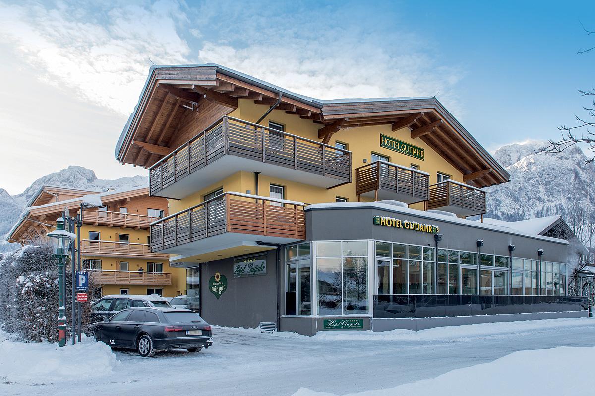 Rakousko (Horní Rakousko) - lyžování - HOTEL GUTJAHR