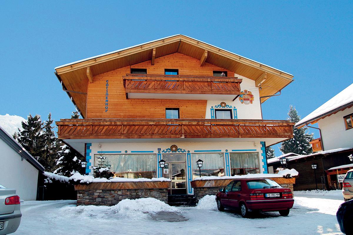 Rakousko (Tyrolsko) - lyžování - GASTHOF GÖTZNERHOF