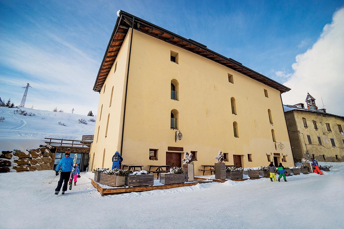 Itálie (Skirama Dolomiti) - lyžování - HOTEL LA MIRANDOLA