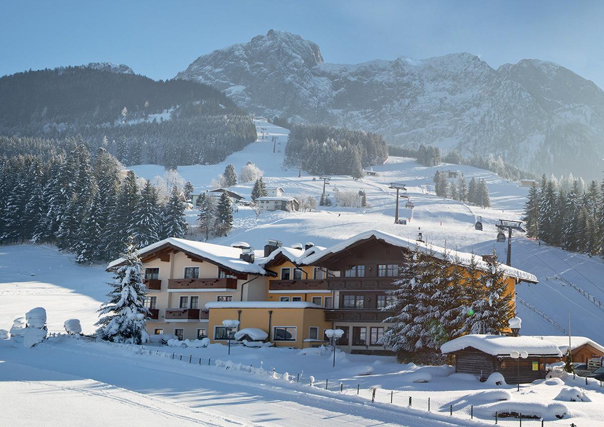 Rakousko (Horní Rakousko) - lyžování - LANDHOTEL GASTHAUS TRAUNSTEIN