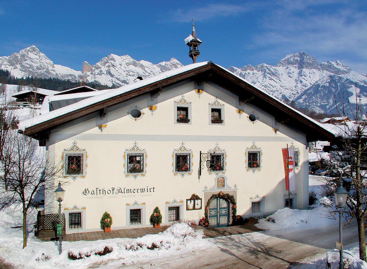 Rakousko (Salcbursko) - lyžování - GASTHOF MARIA ALM ALMERWIRT