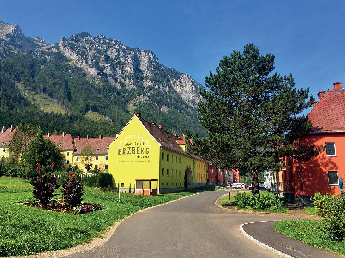 Rakousko (Rakouské Alpy a jezera) - Alpin Resort Erzberg s HB