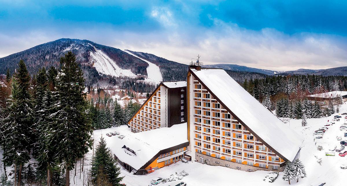 Česká republika (Krkonoše) - lyžování - RESORT SKLÁŘ