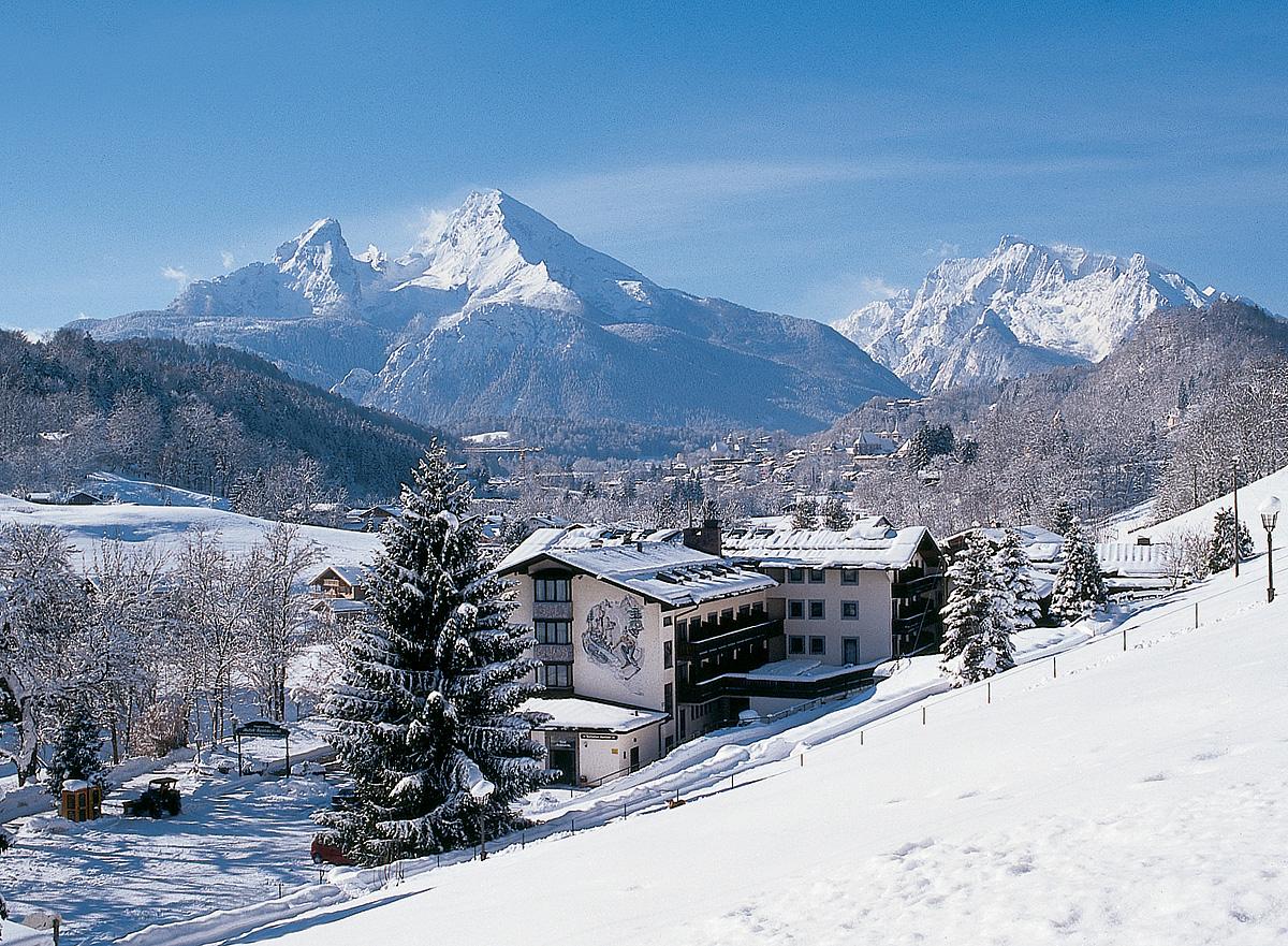Německo (Bavorské Alpy) - lyžování - ALPENSPORTHOTEL SEIMLER