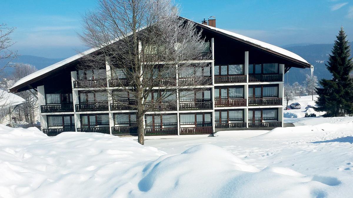 Německo (Bavorský les) - lyžování - HOTEL ALMBERG