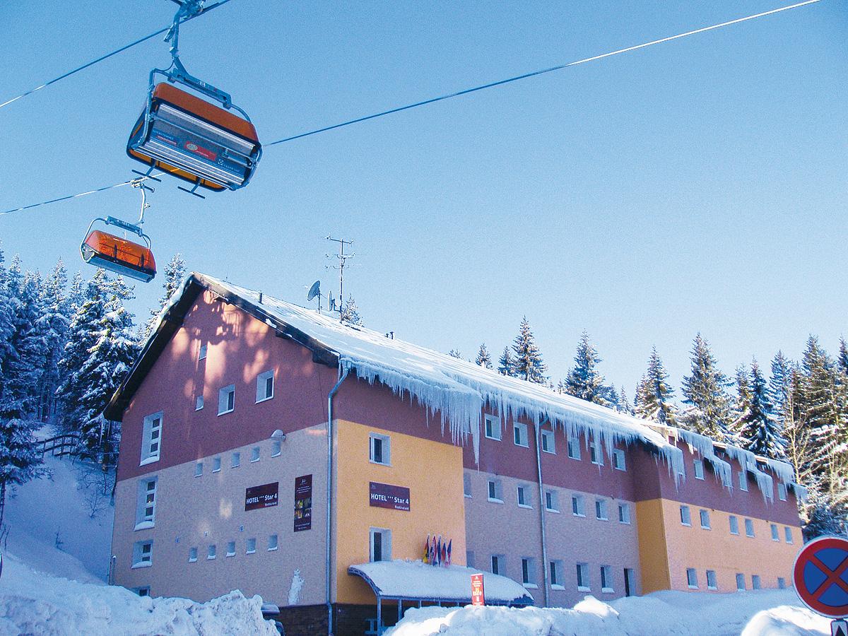 Česká republika (Krušné Hory) - lyžování - HOTEL STAR 4