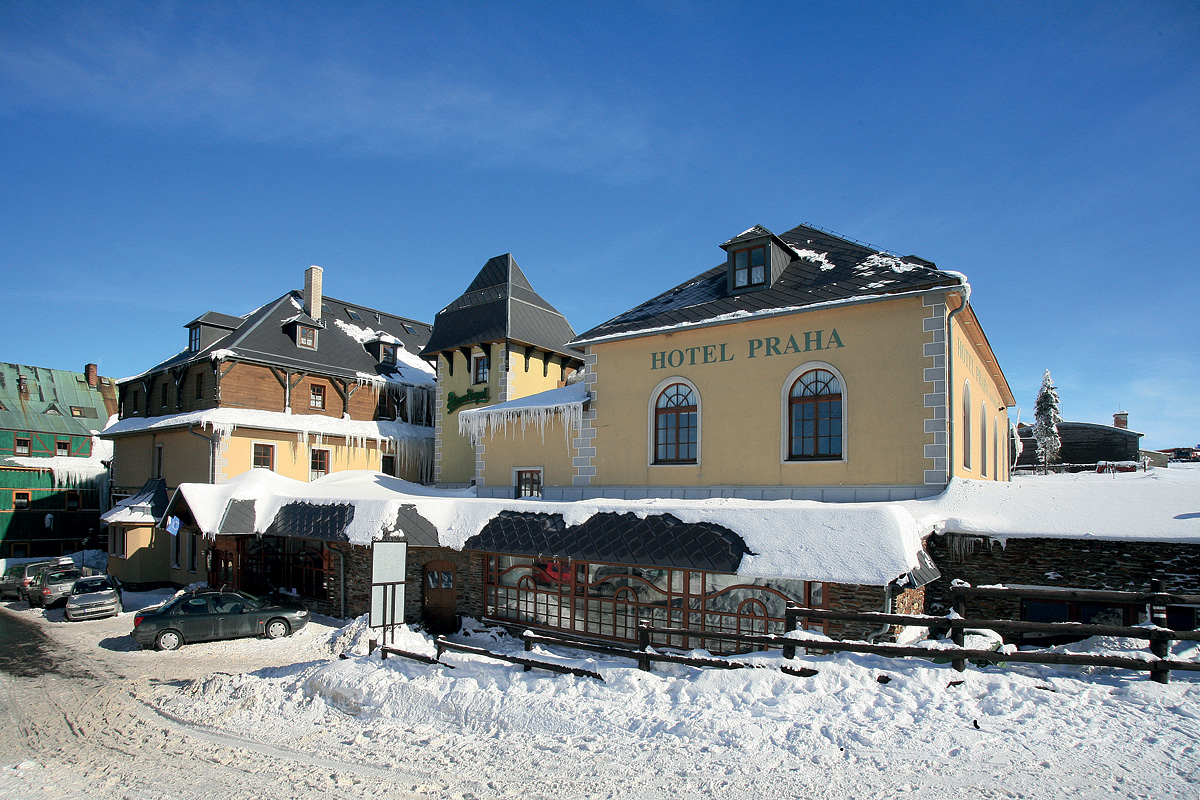 Česká republika (Krušné Hory) - lyžování - HOTEL PRAHA