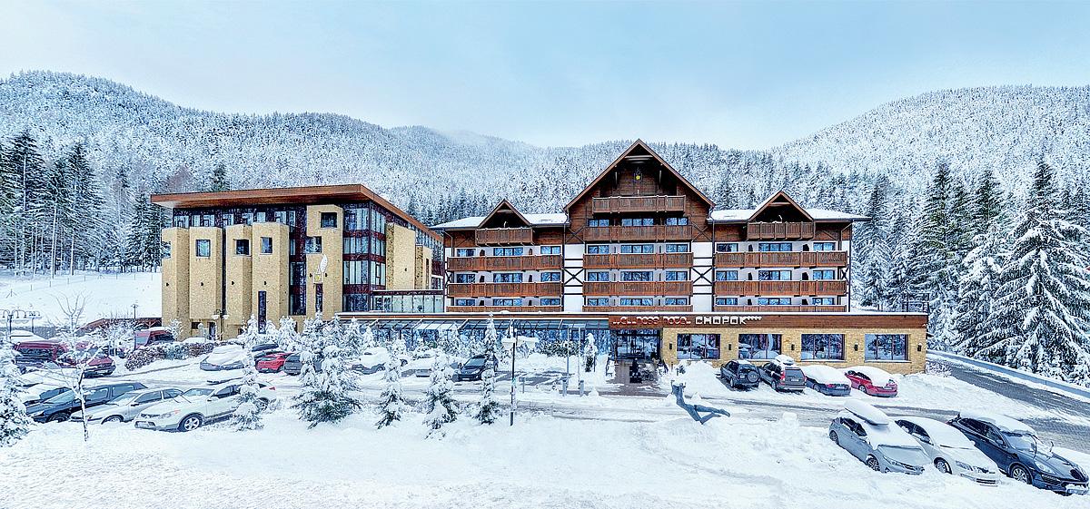 Slovensko (Nízké Tatry) - Wellness Hotel Chopok