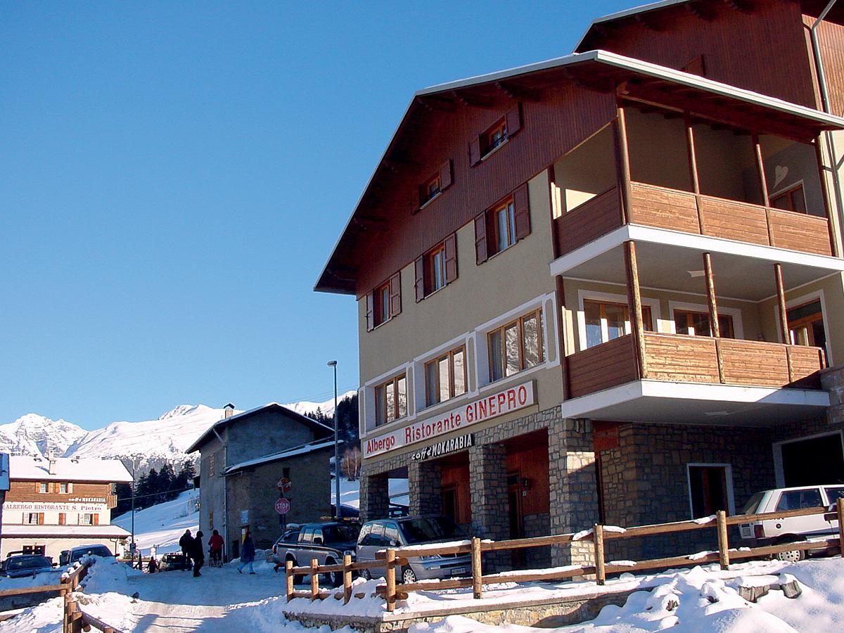 Itálie (Alta Valtellina) - lyžování - HOTEL GINEPRO