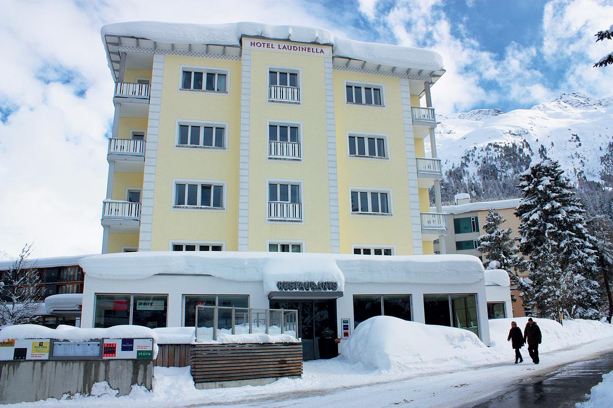 Švýcarsko (Graubünden) - lyžování - HOTEL LAUDINELLA