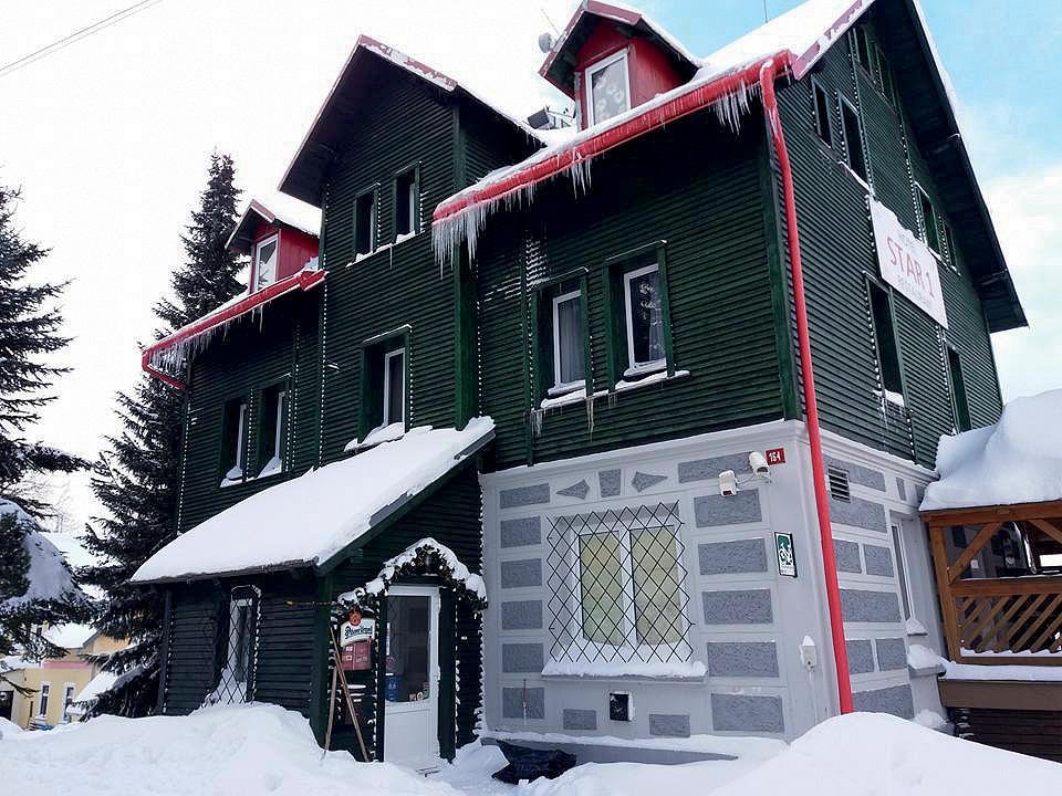 Česká republika (Krušné hory) - lyžování - HOTEL STAR 1,2