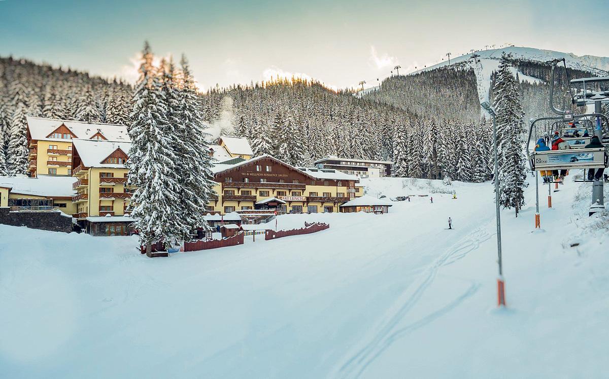 Slovensko (Nízké Tatry) - Ski & Wellness Residence Družba - polopenze