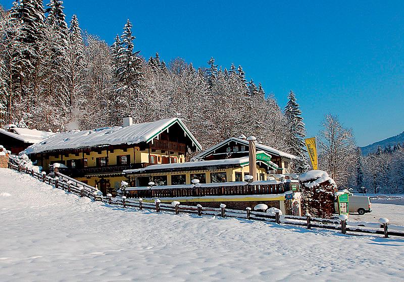 Německo (Bavorské Alpy) - lyžování - HOTEL GASTHOF GEBIRGSHÄUSL