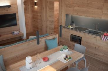 Apartmánový dům Europa Mountain Apartments - Dolomiti Superski - Civetta