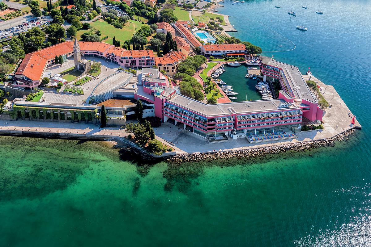 Slovinsko (Slovinsko) - dovolená - HOTEL HISTRION